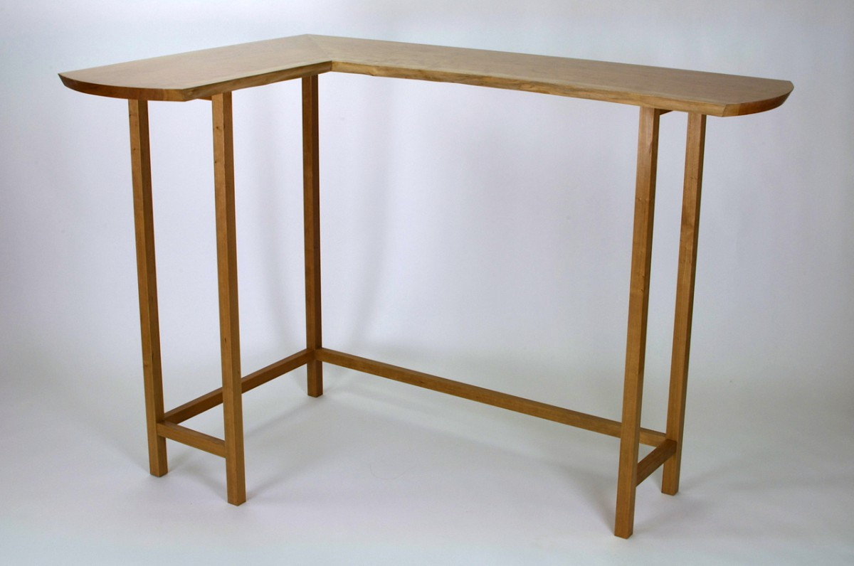 Corner Slab Table