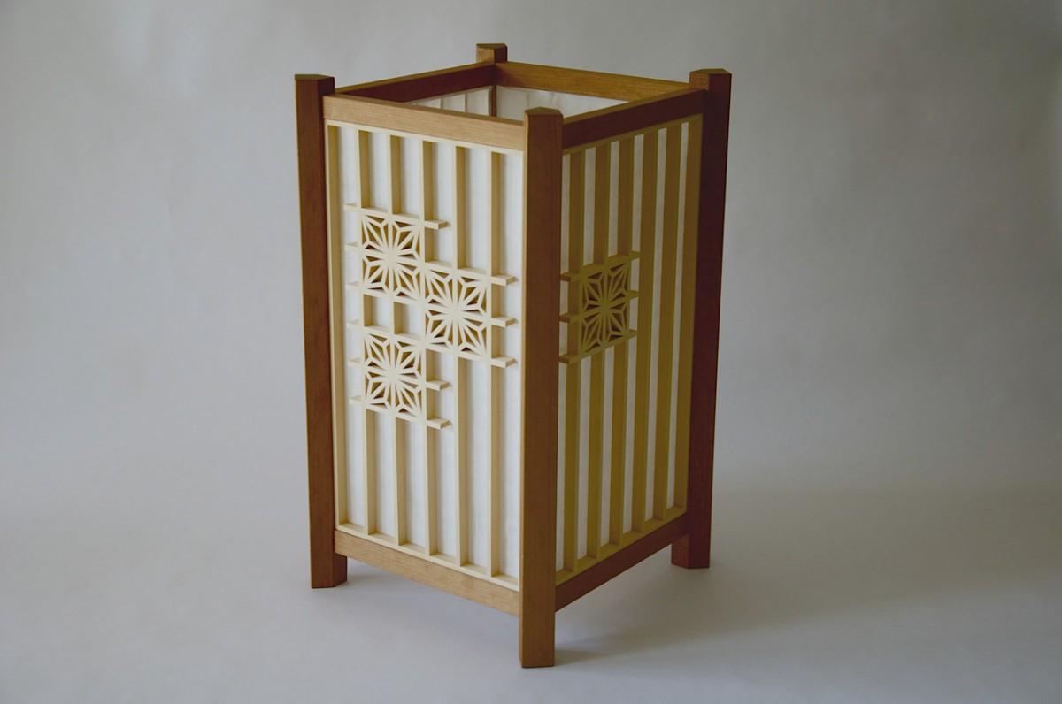 Japanese wooden lantern