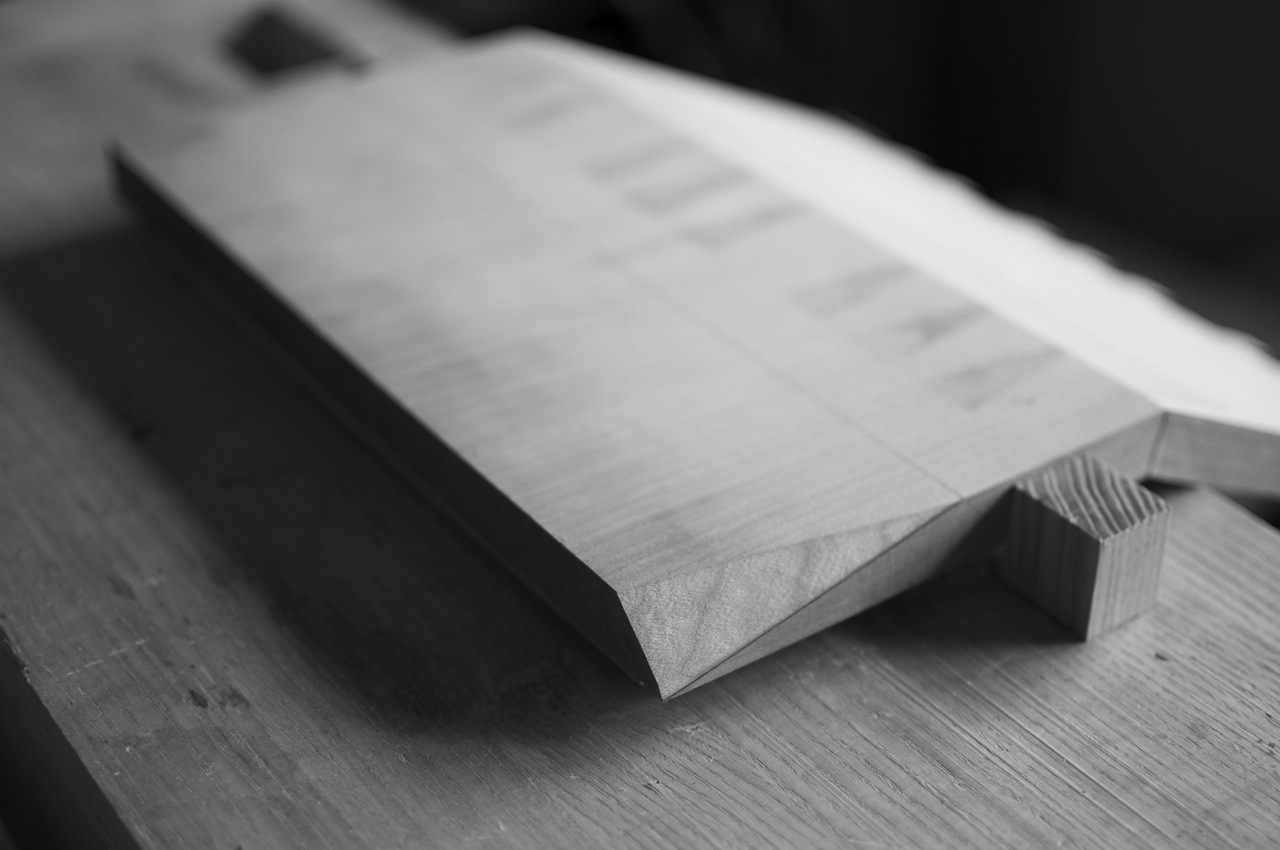 Forming the point's miter